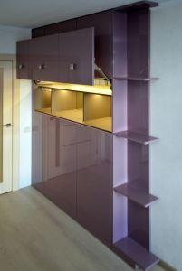 Фиолетовая и сиреневая мебель - фото - 34956