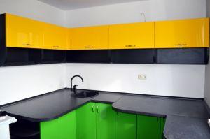 Кухни с ручками скобами - фото - 35379
