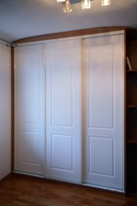 Белые шкафы-купе - фото - 35415
