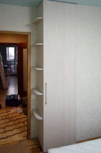 Бежевые и желтые распашные шкафы - фото - 35433