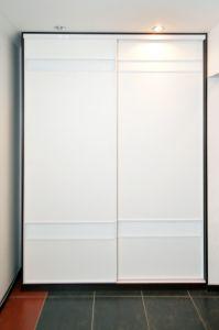 Шкафы-купе с лакобелем - фото - 35443
