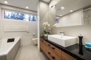 Мебель для ванной цвета венге - фото - 6374