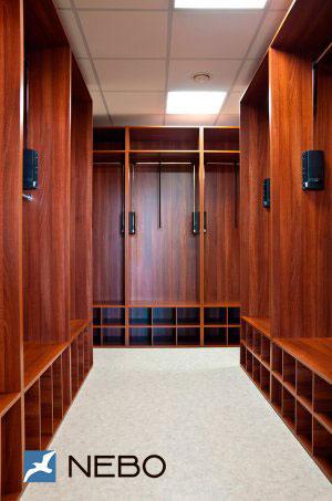 Гардеробные комнаты - фото - 6479
