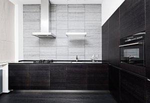 Черные кухни - фото - 6527