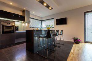Черные кухни - фото - 6533