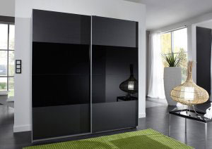 Черные шкафы-купе - фото - 8994