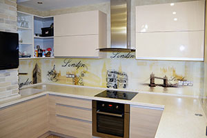 Кухни с фасадами из ДСП - фото - 9159