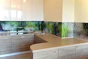 Кухни с врезными ручками - фото - 9166