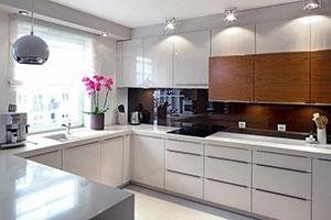 Кухни с профильными ручками - фото - 9171