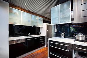 Черные кухни - фото - 9175