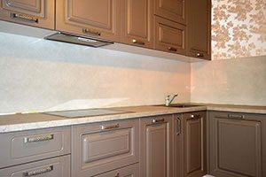 Кухни с ручками скобами - фото - 9182