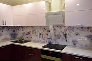 Красные кухни - фото - 9186