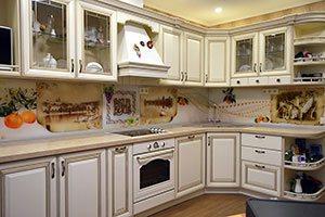 Кухни с ручками скобами - фото - 9187