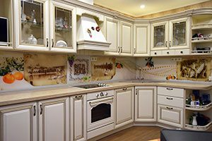Кухни с патиной - фото - 9187