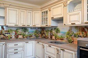 Кухни с ручками скобами - фото - 9196