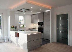 Серые кухни - фото - 9963