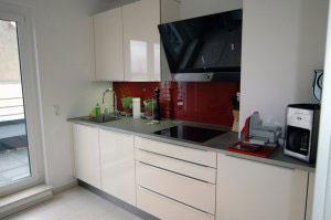 Желтые и бежевые кухни - фото - 9966