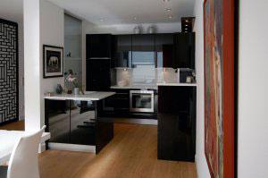 Черные кухни - фото - 9968
