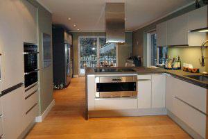 Серые кухни - фото - 9970