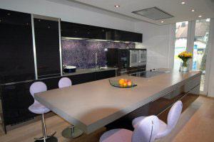 Черные кухни - фото - 9976