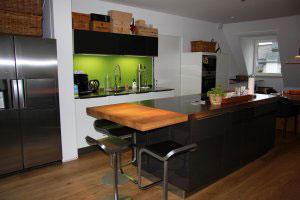 Черные кухни - фото - 9991