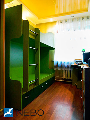 Зеленая и салатовая детская мебель - фото - 5042