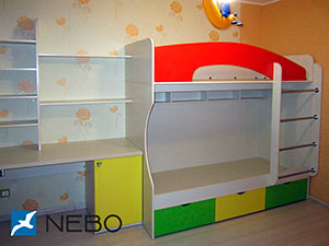 Зеленая и салатовая детская мебель - фото - 5049