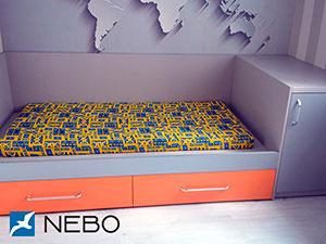 Фиолетовая и сиреневая мебель - фото - 5067