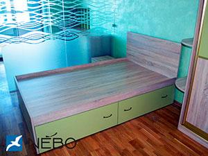 Зеленая и салатовая детская мебель - фото - 5068