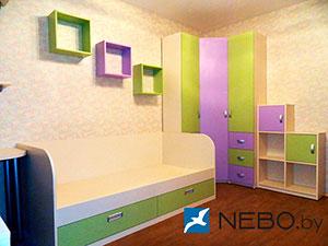 Зеленая и салатовая детская мебель - фото - 5037
