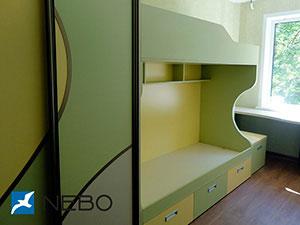 Зеленая и салатовая детская мебель - фото - 5057