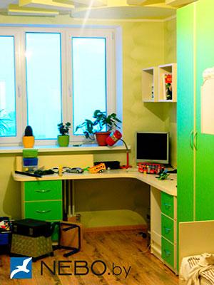 Зеленая и салатовая детская мебель - фото - 5031