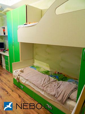 Зеленая и салатовая детская мебель - фото - 5030