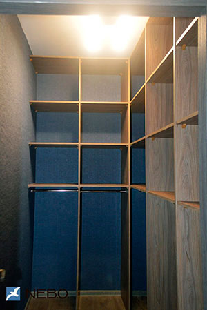 Гардеробные комнаты - фото - 5905