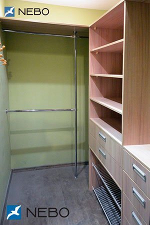 Гардеробные комнаты - фото - 5903