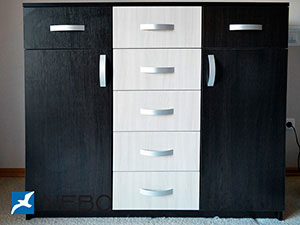 Черная мебель - фото - 5978