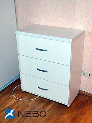 Белые комоды - фото - 5988