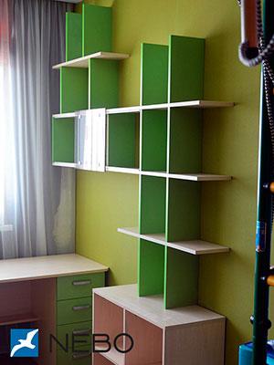 Зеленые и салатовые полки - фото - 6193