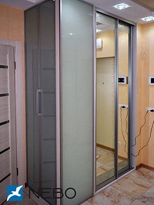 Шкафы-купе с лакоматом - фото - 4147
