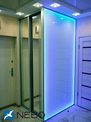 Шкафы-купе с лакоматом - фото - 4148