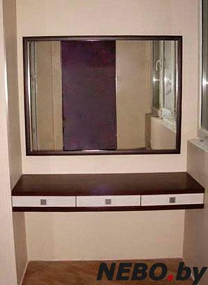 Коричневые (венге) туалетные столики - фото - 5814