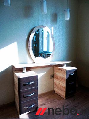 Туалетный столик с зеркалом - фото - 5819