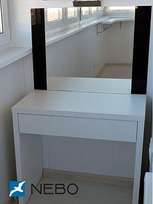 Туалетный столик с зеркалом - фото - 5837