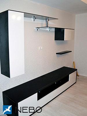 Горки, секции, мебельные стенки - фото - 5641