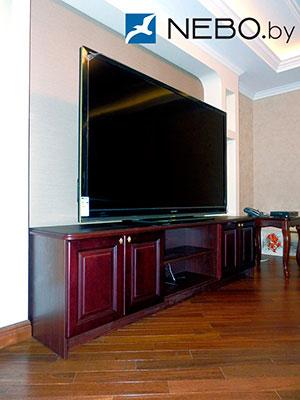 Классические тумбы под телевизор - фото - 5683