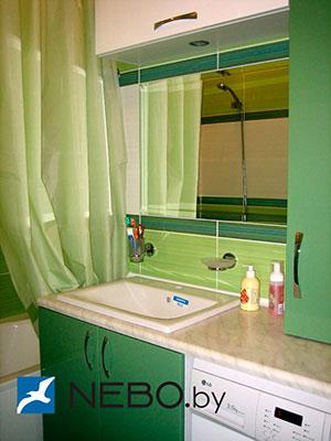 Зеленая и салатовая мебель для ванной - фото - 5194