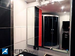 Черная мебель для ванной - фото - 5226