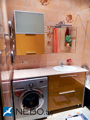 Шкафы навесные для ванной - 5243