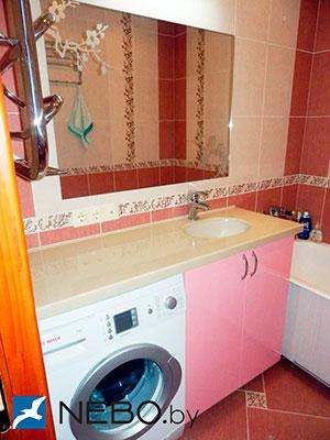 Розовая мебель для ванной - фото - 5185