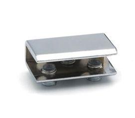 Стеклодержатель 16-020-8 под стекло 6-8 мм, хром, 40х25х15 мм